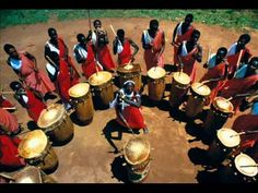African Burundi Drum Music