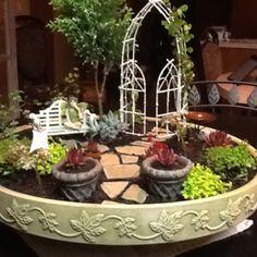 Dawn Hensley Dazell's Fairy Garden