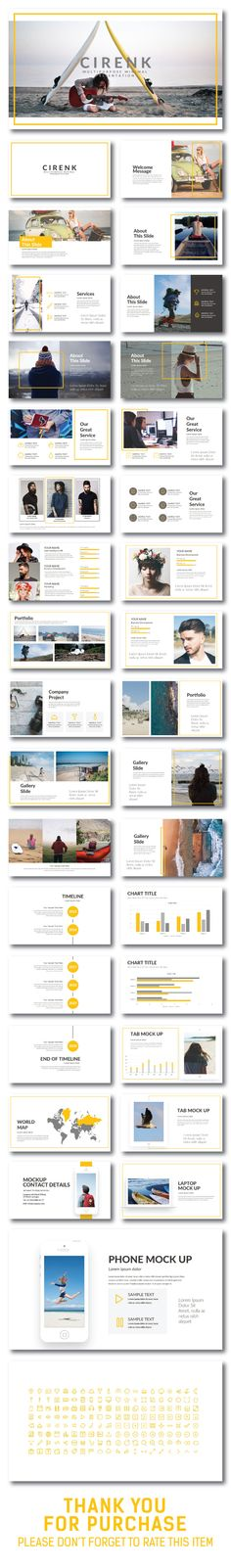 Cirenk #Presentation #Template - Creative PowerPoint Templates