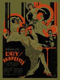 1928 Dry Martini --roaring 20' 30's