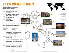 Worksheets: Italy Landmarks