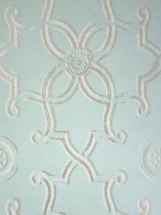 Nina Campbell wallpaper for dining room