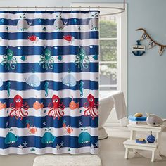 Nicetown Blue Curtains For Kids Nursery Naptime Essential Nursery Draperies X To Win A High Admiration