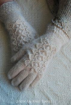 Knitting - beautiful mittens $ on Etsy