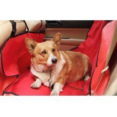 Pet Puppy Dog Car Back Rear Seat Cushion Mat Waterproof Cloth 52.36''x52.75'' #Unbranded