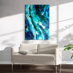 EARTH Art on Acrylic By Christina Twomey - 16in x 20in