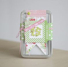 Altering a Tin for a Special Christmas Treat! - Chickaniddy Crafts Amy Tsuruta