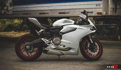 2014 Ducati 899 Panigale White-4