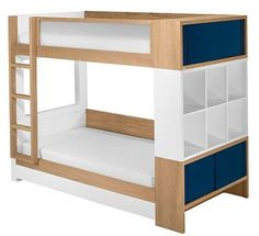 cool bunk with storage