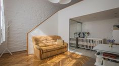 A newly renovated, bright, cosy flat for sale in one of the most affluent areas of Budapest. Flats For Sale, Condominium, Budapest, Storage Spaces, Property For Sale, Cribs, Cozy, Furniture, Design