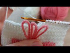 Tunus işi örgü modelime bayılacaksınız how to tunisian crochet knitting - YouTube Crochet Blouse, Bargello, Diy And Crafts, Embroidery, Knitting, Pattern, Jewelry, Videos, Tunisian Crochet