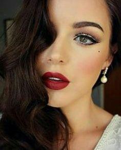 Boca vermelha