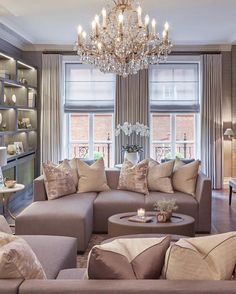 Our client loved the interiors @aman_venice and so we created their very own palazzo in Knightsbridge inspired by the combination of grand interior architecture and contemporary furnishings seen at the hotel #behindthedesign #sophiepatersoninteriors #interiordesign #luxuryinteriors #knightsbridge #london #greyinteriors