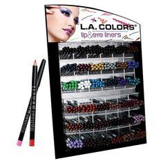 28 Colors Lipliners & Eyeliner Pencils 1 of each color Assorted by L.A. Colors ❤ #LAColors