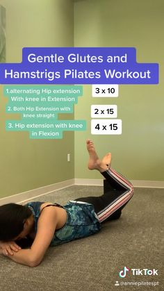 Fitness Workouts, Fitness Workout For Women, Pilates Workout, Easy Workouts, Yoga Fitness, Floor Workouts, Pop Pilates, Butt Workouts, Pilates For Beginners