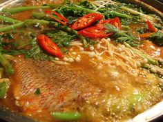 Spicy fish soup (Maeuntang) recipe