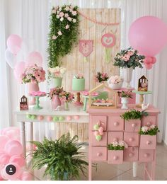 Baby Party, Baby Shower Parties, Baby Shower Themes, Birthday Party Decorations, Birthday Parties, Candy Table, Kid Table, 1st Birthday Girls, Baby Shower Printables