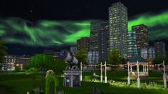 """brntwaffles: """" Astral Lights is a lighting modification that adds more stars and auroras, sunlit tides sunrises and sunsets, and overall less blue to the sims 4 lighting. Install Instructions:unzip..."""