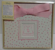 C.R. Gibson Deluxe THANK HEAVEN FOR LITTLE GIRLS Brag Book Photo Album NIB  #CRGibson