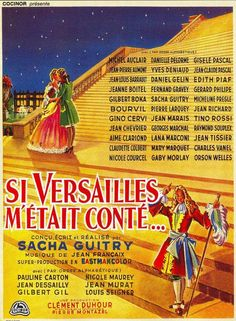 film 1953 - Si Versailles m'était conté - brigitte bardot