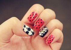 I love the houndstooth....and it would be cute to mix it