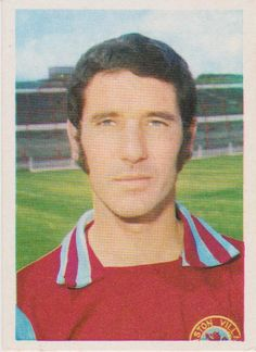The late great John Robson of Villa, taken in 1975. Sadly, multiple sclerosis forced him out of the game and later killed him