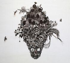 hand cut paper artwork: amazing
