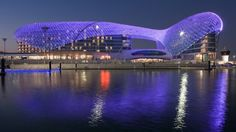 Architectural Gems of the Hotel World - Yas Viceroy exterior - blog