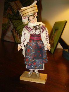 Stunning details!! Romanian doll