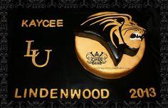 Lindenwood University graduation cake 2013