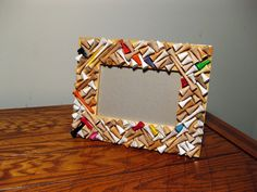 4x6 Golf Tee Picture Frame by TheAbandonedTee on Etsy
