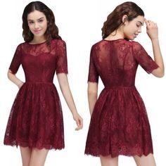 New-Short-Evening-Formal-Party-Cocktail-Dress-Prom-Homecoming-Dresses-Bridesmaid #shortpromdresses