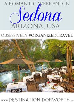 Get an itinerary for the perfect romantic weekend in Sedona.  3 day getaway among the red rocks.