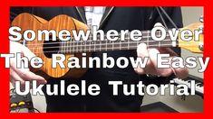 Somewhere Over The Rainbow Easy Beginner Ukulele Tutorial Iz Version. Get out your uke and . Easy Ukelele Songs, Cool Ukulele, Ukulele Songs, Guitar Chords And Lyrics, Ukulele Chords, Over The Rainbow Ukulele, Guitar Tutorial, Somewhere Over, Music Activities