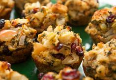 Easy Christmas Party Food Ideas - Stuffin Muffins - Click Pic for 20 Delicious Holiday Appetizer Recipes