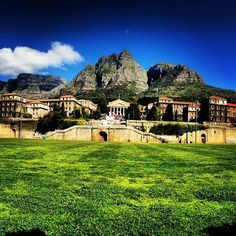 The only time I've ever looked forward to walking to school. UCT
