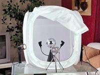 Somikon Profi-Fotozelt /-Lichtwürfel, groß (80 cm) für nur 29,90 €