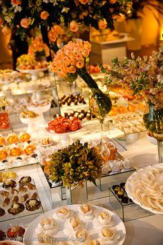 amarelo - mesa doces