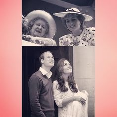 "msjessjohnston: ""Welcome into the world Princess Charlotte Elizabeth Diana. Beautiful name for a beautiful baby. #RoyalBaby #LadyDiana #PrincessCharlotte #WilliamAndKate """