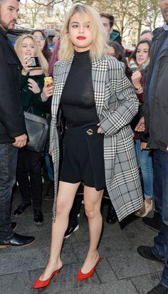 December 4: Selena leaving Capital FM Studios in London, UK
