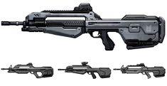 Halo 4 Art & Pictures,  Battle Rifle