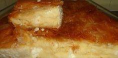 Πανεύκολη και πεντανόστιμη τυρόπιτα με φύλλο κρούστας και σιμιγδάλι Savory Muffins, Greek Recipes, Lasagna, I Am Awesome, Pie, Cheese, Ethnic Recipes, Food, Torte