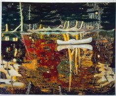 Peter Doig #painting #landscape