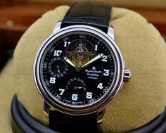 European Watch Company: Blancpain Tourbillon in Stainless Steel, Limited Edition of 18 Pieces, Desert Storm.....