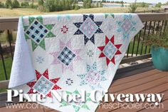 Good morning! I have a super cute giveaway for you today! If you're following me on Instagram you've already seen this cute star quilt, and it's definitely become one of my faves. This pattern is from the Holiday Wishes book by Sherri falls. The fabric I used is called Pixie Noel, and it's a super…Read More