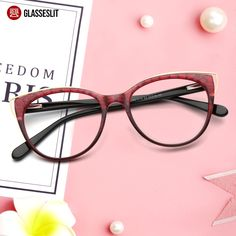 Choose the high quality acetate cat eye frame for your weekend. Cat Eye  Frames, b3599cd8e860
