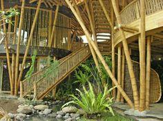 Bamboo home.