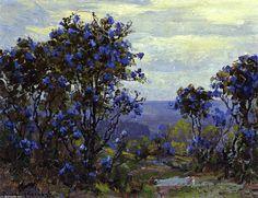 Mountain Laurel in Bloom de Robert Julian Onderdonk (1882-1922, United States)
