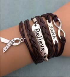 Fashion jewelry promotion store,Supply all kinds of cheap fashion jewelry DIY Breast Cancer Awarness Set Bracelet - Cheap Fashion Jewelry, Fashion Jewelry Necklaces, Fashion Bracelets, Fashion Earrings, Jewelry Bracelets, Jewlery, Diy Leather Bracelet, Diy Bracelet, Best Friend Jewelry