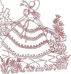 redwork embroidery patterns